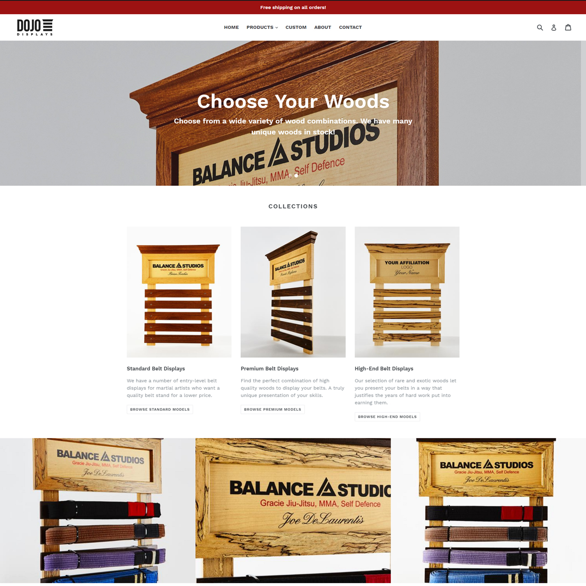 Dojo Displays | Cavallo Agency